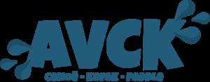 avck base de canoë kayak vézère dordogne logo bleu
