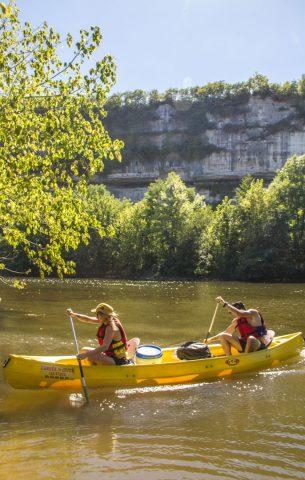 avck canoë kayak vézère dordogne