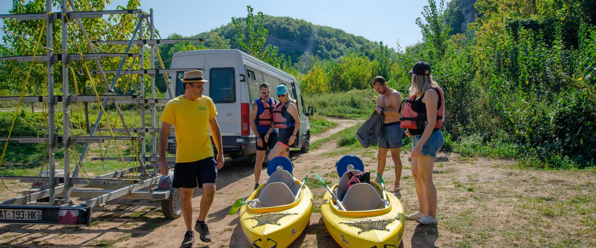 avck vézère canoë kayak dordogne